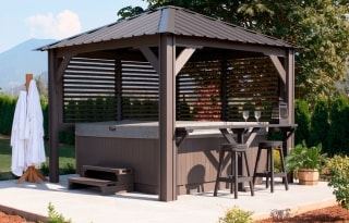 Sienna gazebo sample image